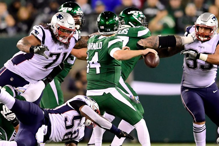 New England Defense Dominates Darnold and Jets in 33-0 Win