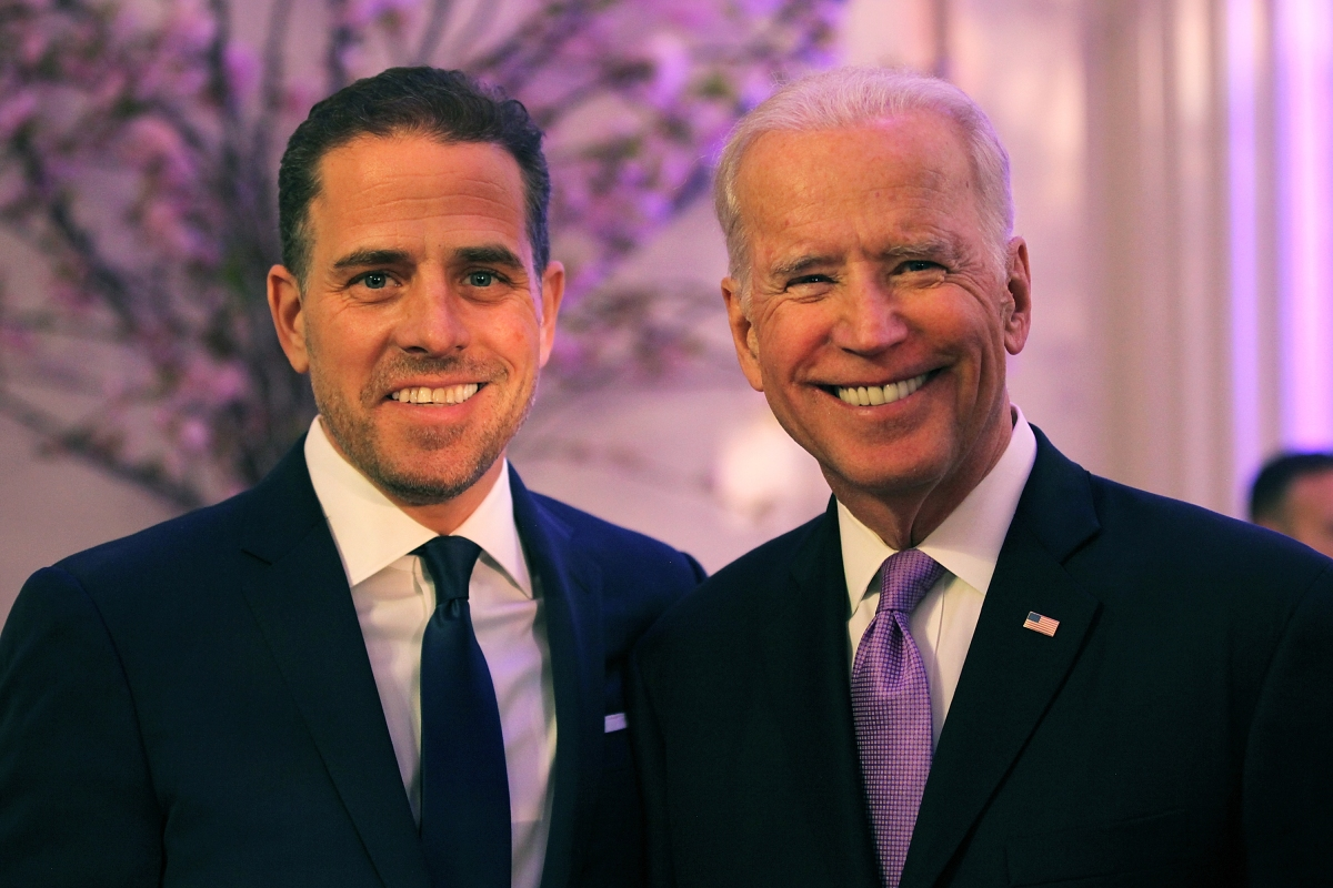 Hunter and Joe Biden (Photo by Teresa Kroeger/Getty Images for World Food Program USA)