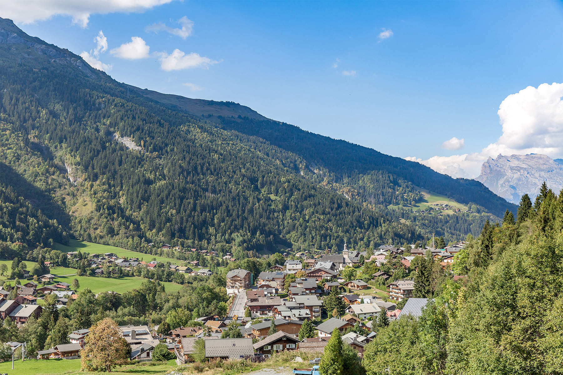 French Alps Village