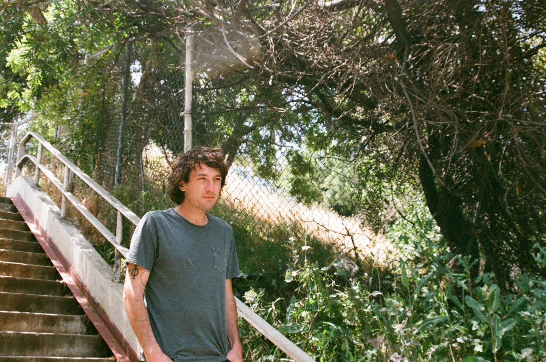 Mikal Cronin cabin in woods