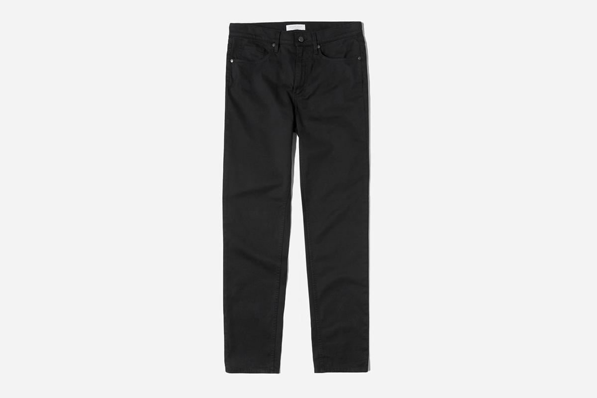 Everlane The Midweight Twill 5-Pocket Slim Pant
