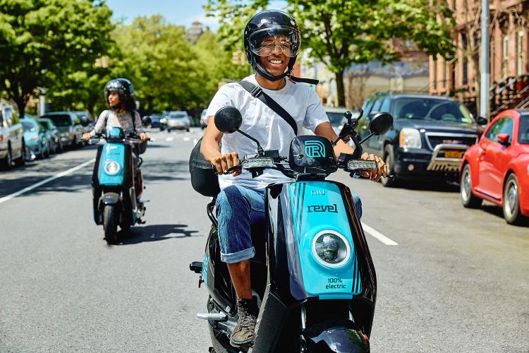 Revel mopeds DC