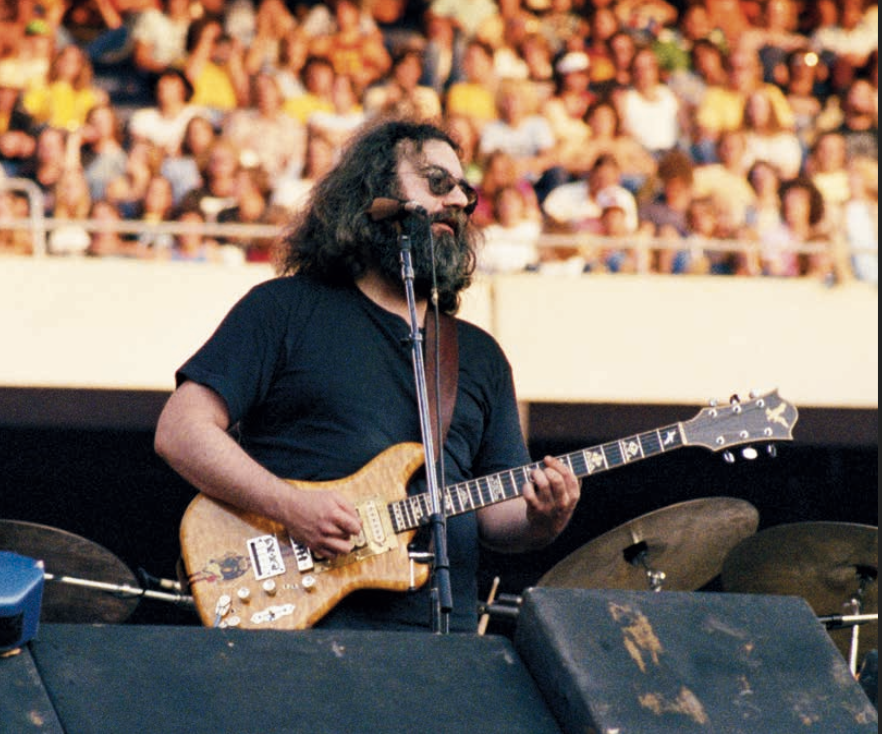 Jerry Garcia in 1978