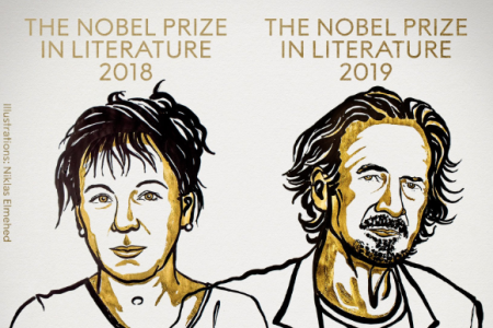 Nobel Prize literature 2018 and 2019