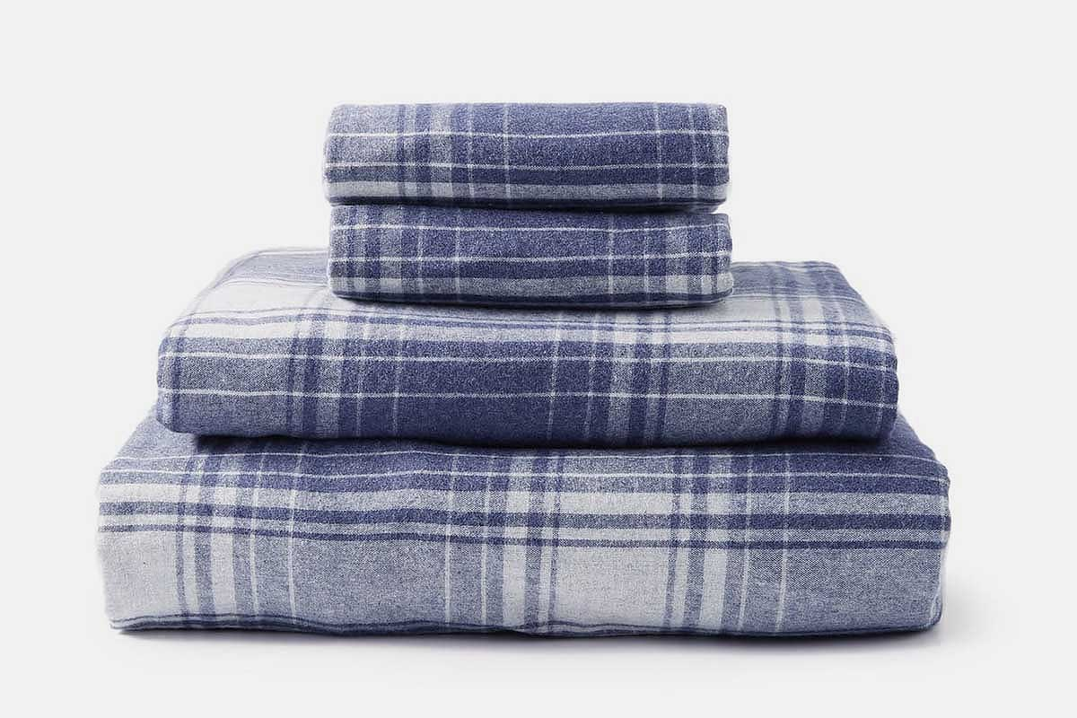 Upstate Flannel Sheet Set