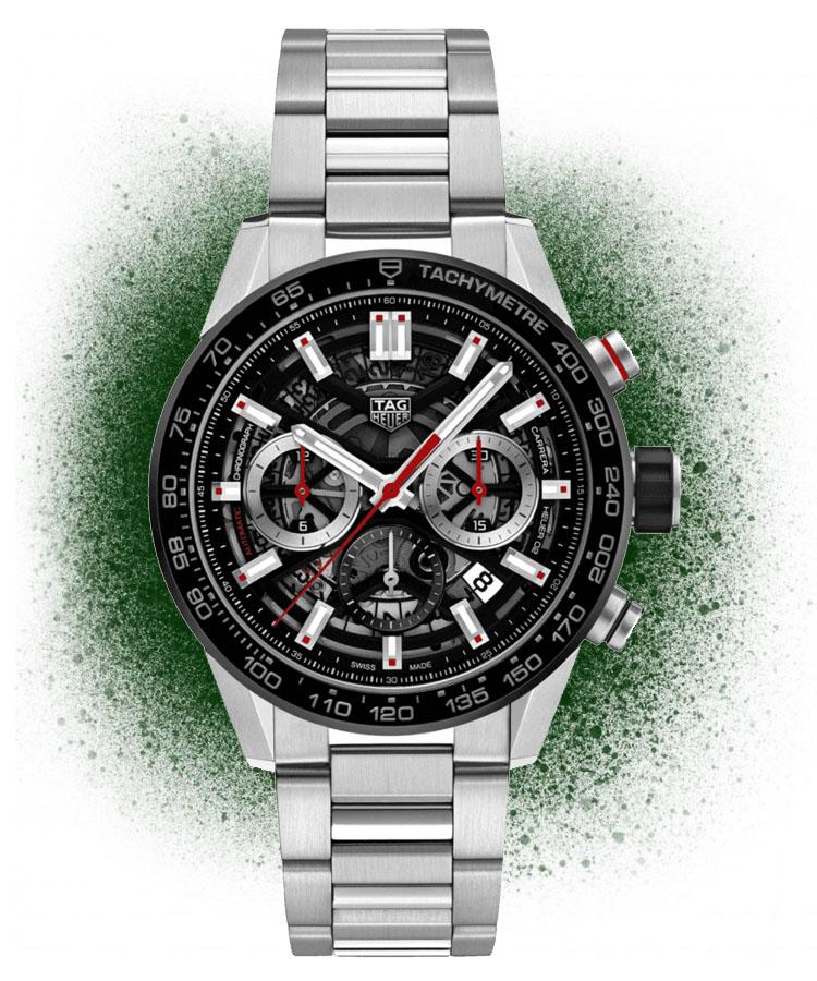 TAG Heuer Carrera Calibre Heuer 02 chronograph