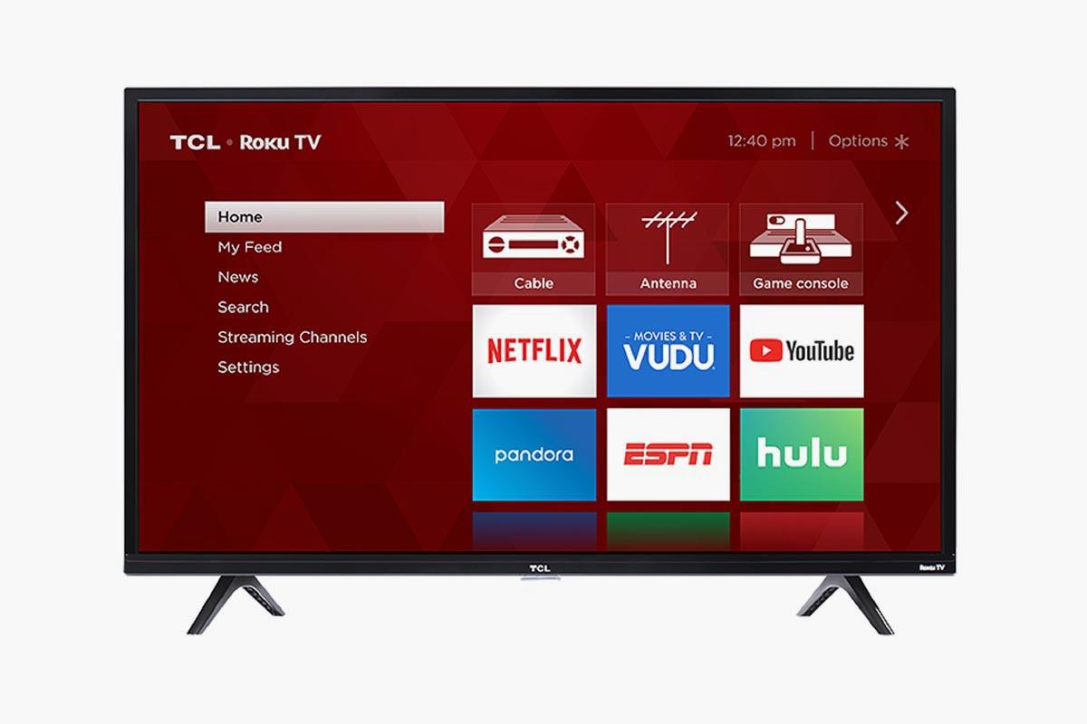 """TCL 32"""" ROKU SMART TV"""