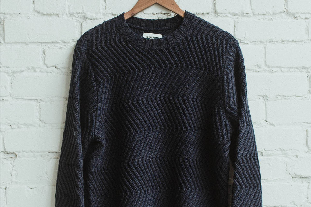 Wave Sweater by Taylor Stitch