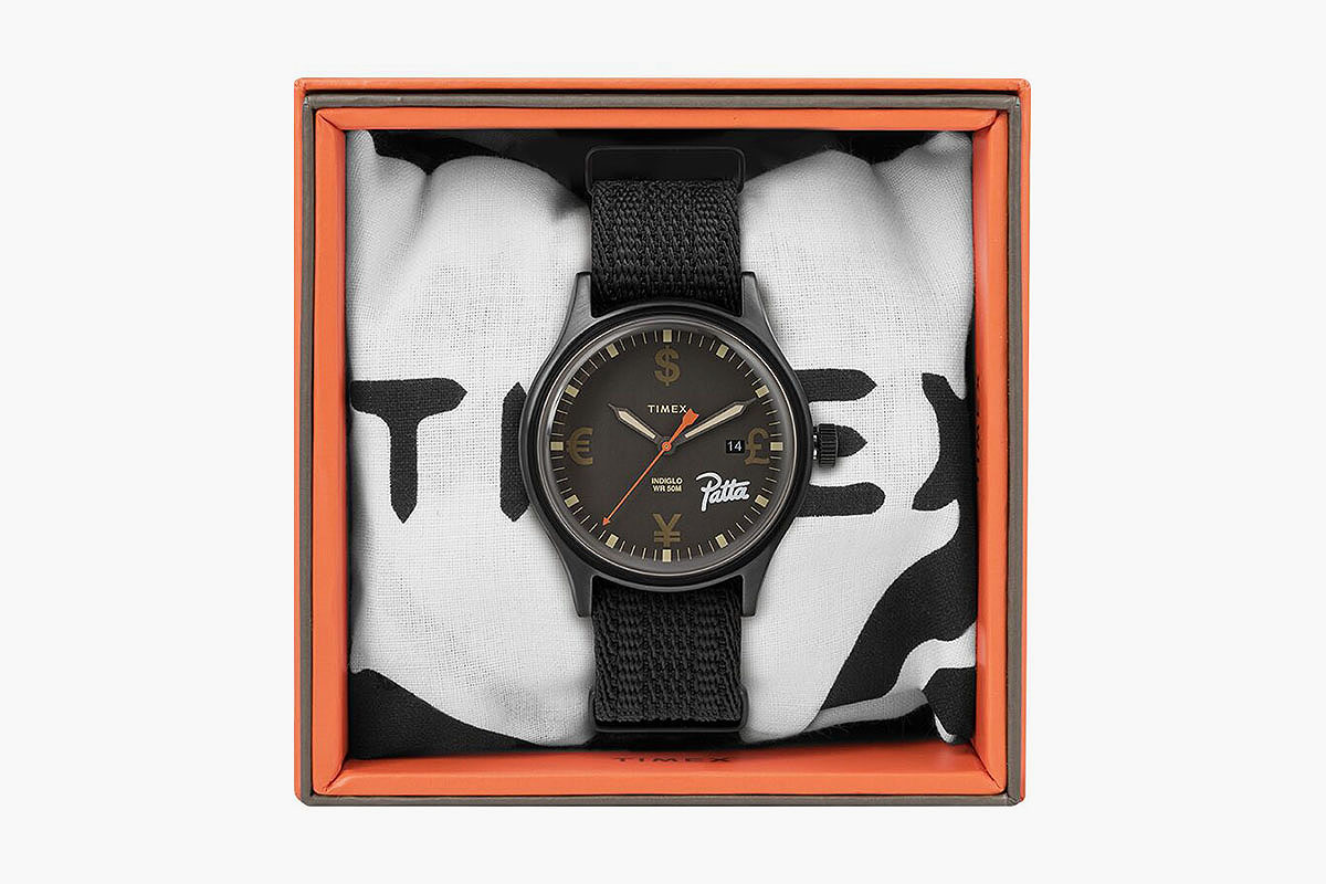 Timex x Patta Time Is Money