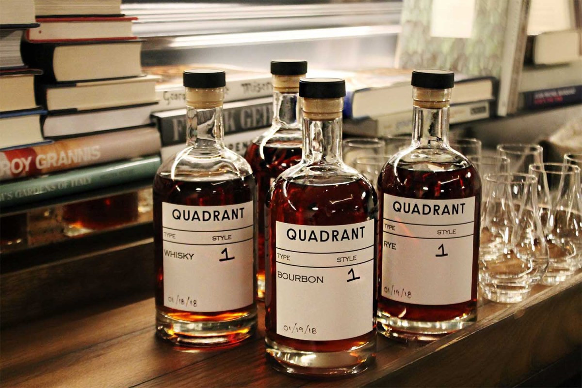 Quadrant Sound-Aged Whiskey