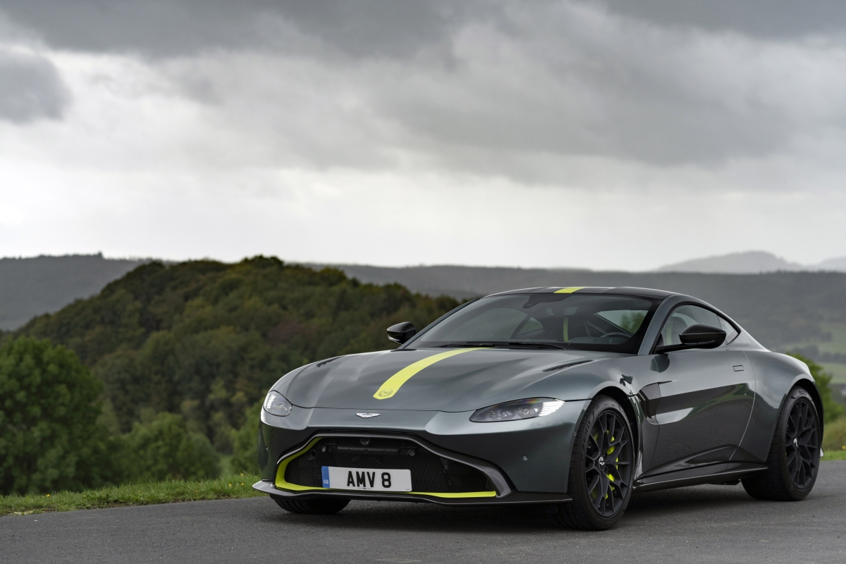2020 Aston Martin Vantage AMR Manual review