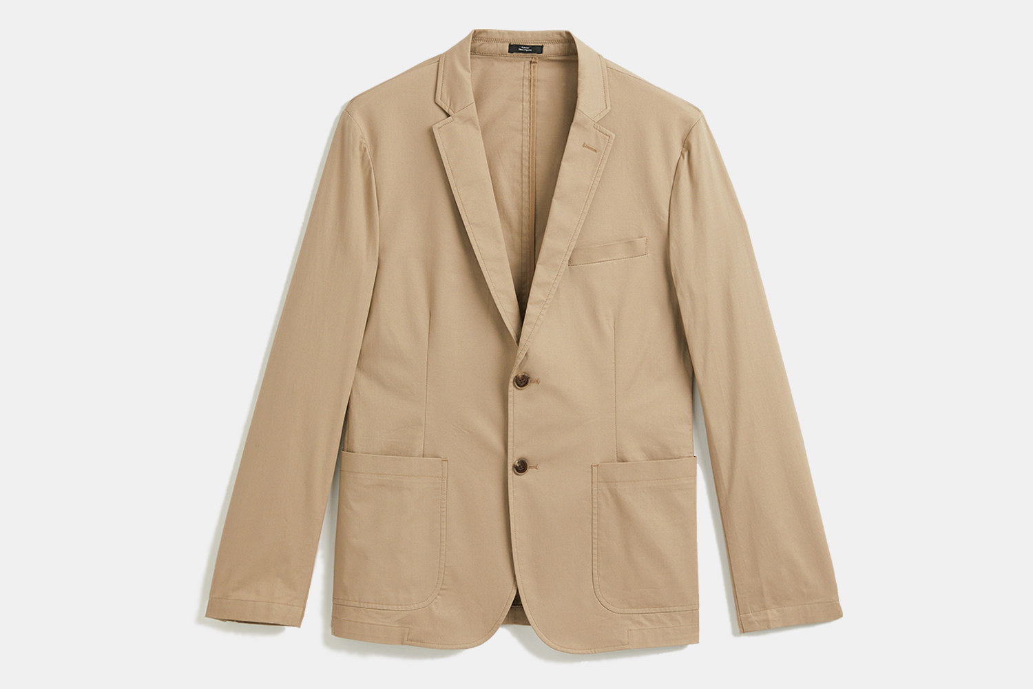 Frank And Oak Laurier Cotton Blazer