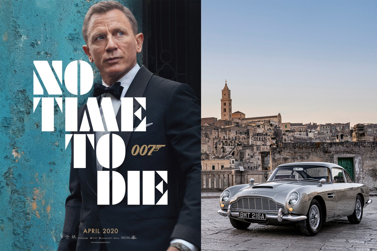 "Aston Martin Cars in James Bond ""No Time to Die"""