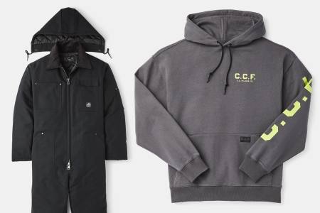 Filson C.C.F. Workwear Coveralls and Hoodies