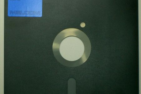 Old floppy disk