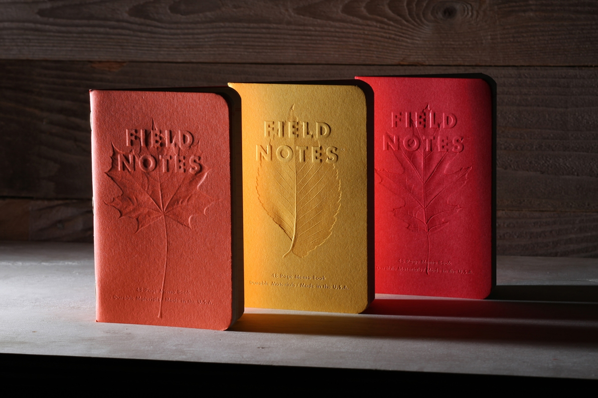 Field Notes Autumn Trilogy