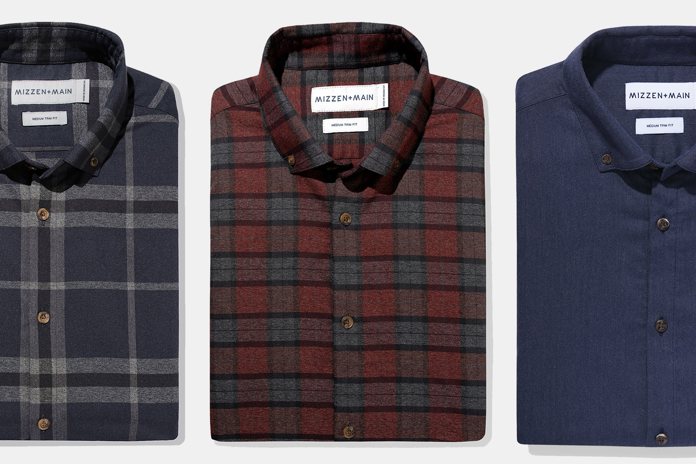 Mizzen+Main Performance Flannel Shirts