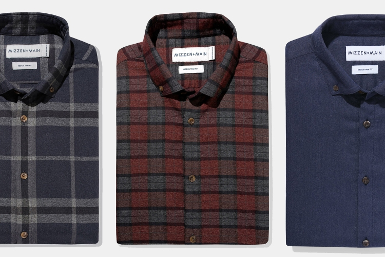 Mizzen+Main Performance Flannel Shirts
