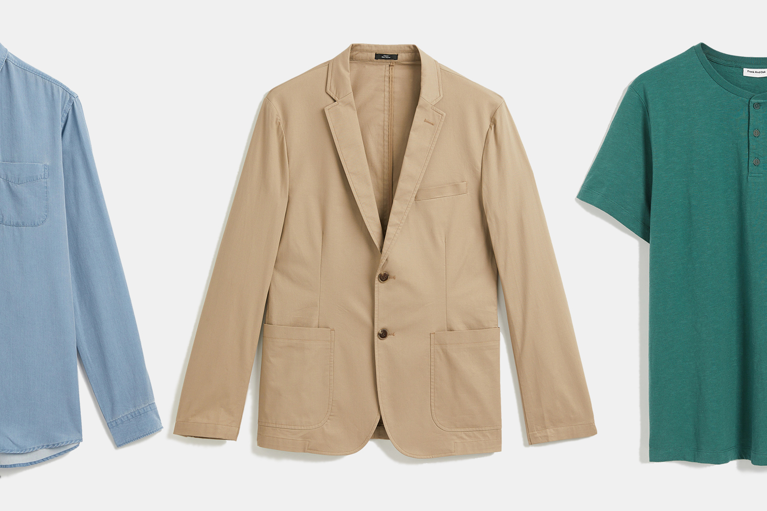 Frank And Oak Blazer and Shirts