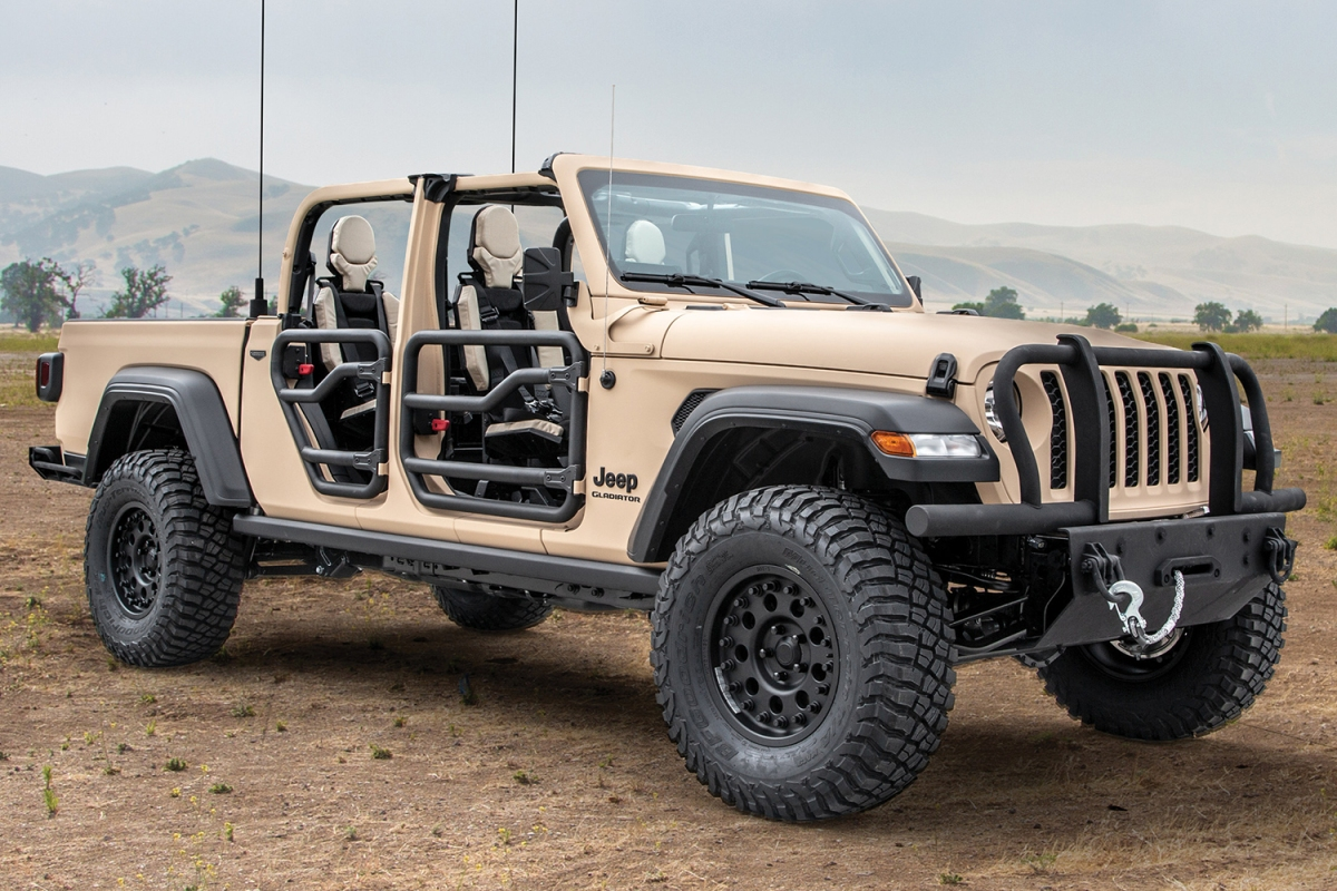 AM General Jeep Gladiator Extreme Military-Grade Truck