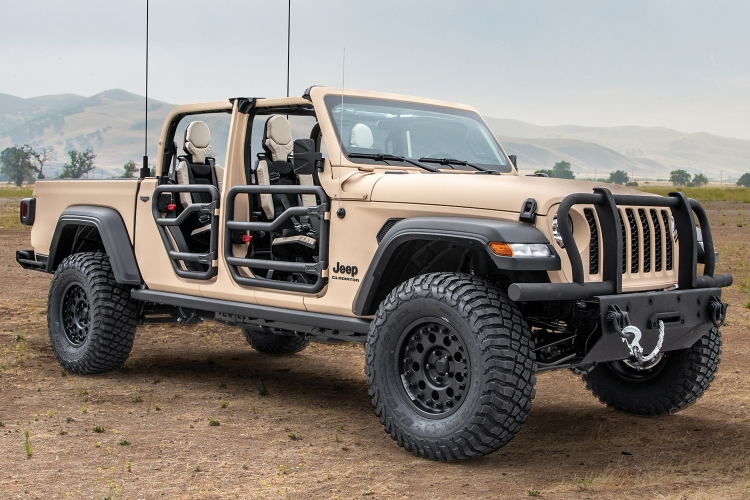 Jeep and AM General Unveil Military-Grade Gladiator Truck - InsideHook
