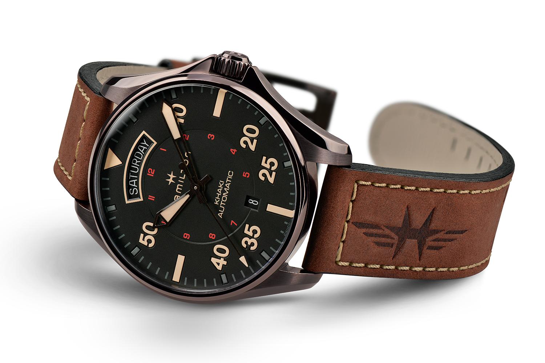 Hamilton Watch Company Khaki Pilot Day Date Auto