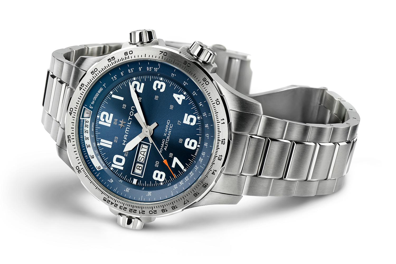 Hamilton Watch Company Khaki X-Wind Day Date Auto