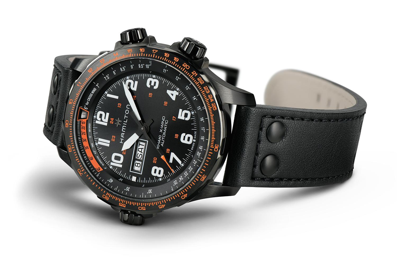Hamilton Watch Company Khaki X-Wind Day Date