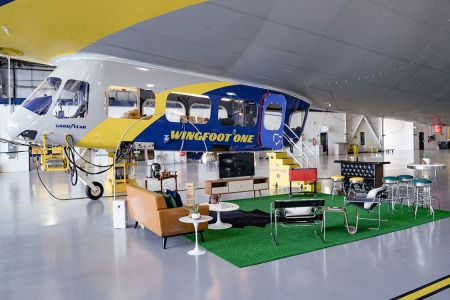Goodyear Blimp Listed on Airbnb