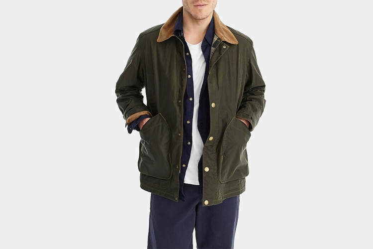 Deal: Take $100 Off This J.Crew X Barbour Jacket