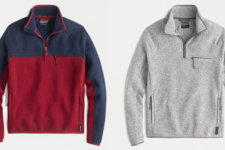 Deal: Fleece Pullovers From J.Crew Are 40% Off