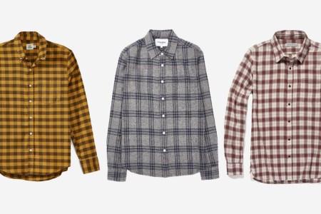 8 Flannel Shirts to Get You Through #CozyGuyFall