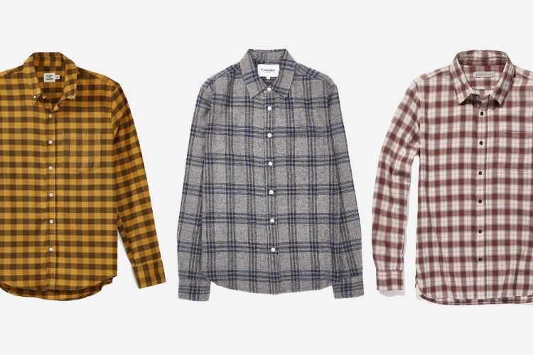 8 Flannel Shirts to Get You Through #CozyGuyFall