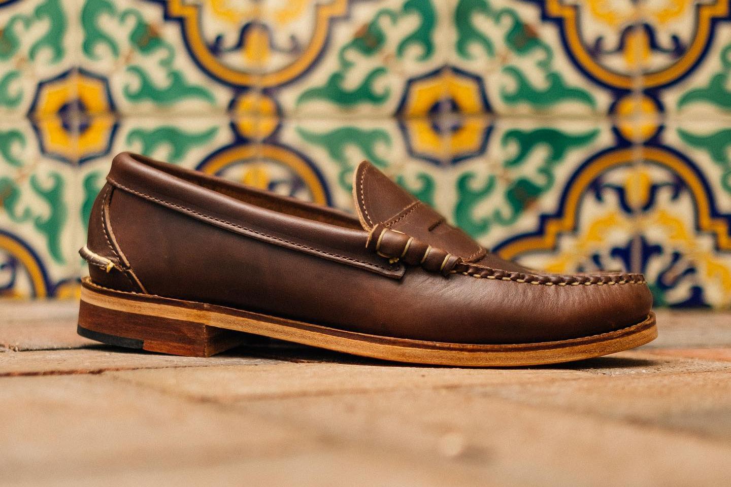 Oak Street Bootmaker Loafer made from Horween Chromexcel leather