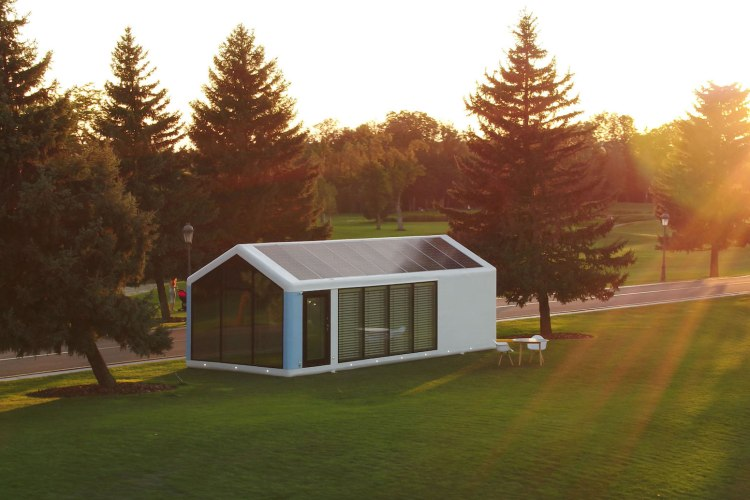 Prefab House Company Offers Solar-Powered Homes For Off-the-Grid Living