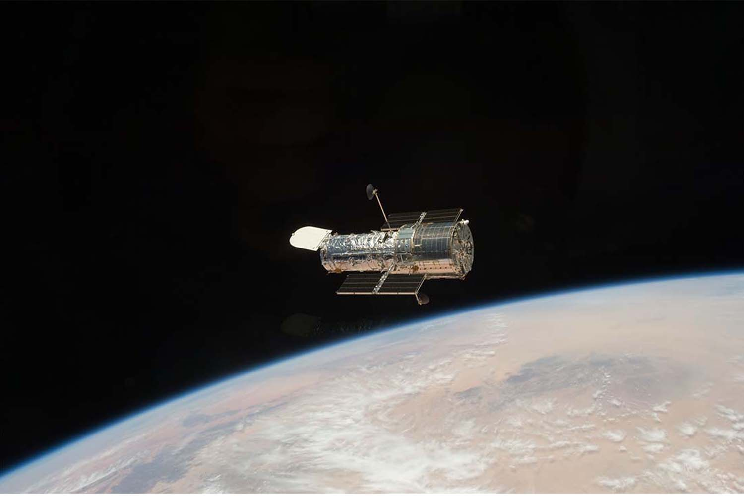 NASA's Hubble Telescope that captured the Messier 87 galaxy.
