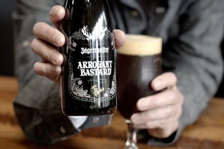 Jägermeister Arrogant Bastard Ale
