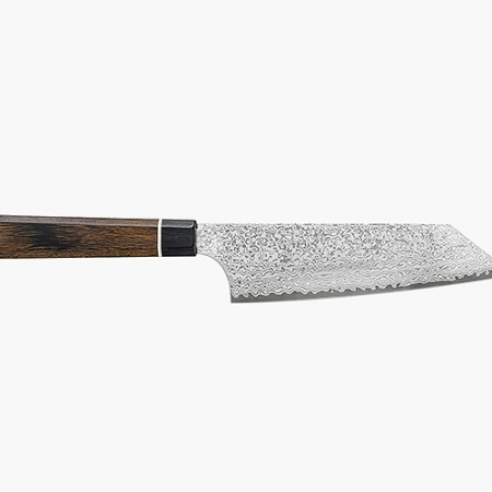 Bunka Black Damascus Knife