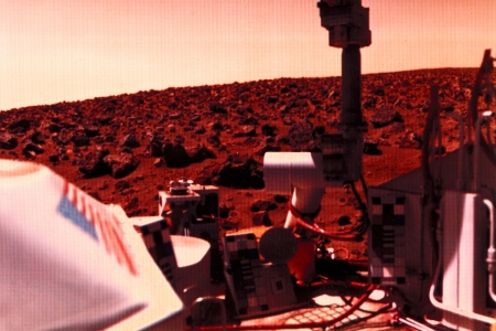 NASA Viking 2 Mars Lander 1976
