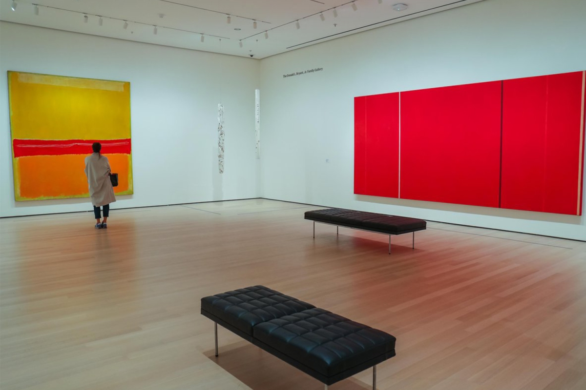 MoMA's fourth floor, 1940s to 1970s