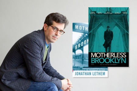 "Jonathan Lethem talks about the ""Motherless Brooklyn"" adaptation (Photo by Leonardo Cendamo/Getty Images)"