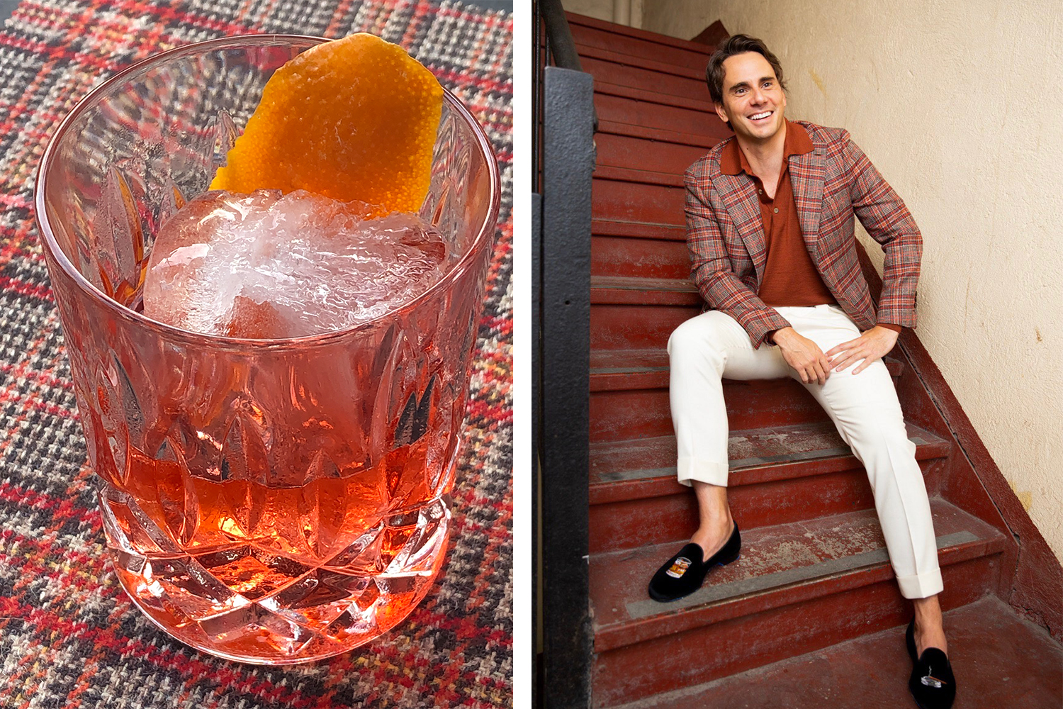 Behold, It's the Season of Negroni Tweed