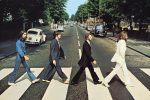 Abbey Road, as pictured on the iconic Beatles album cover.