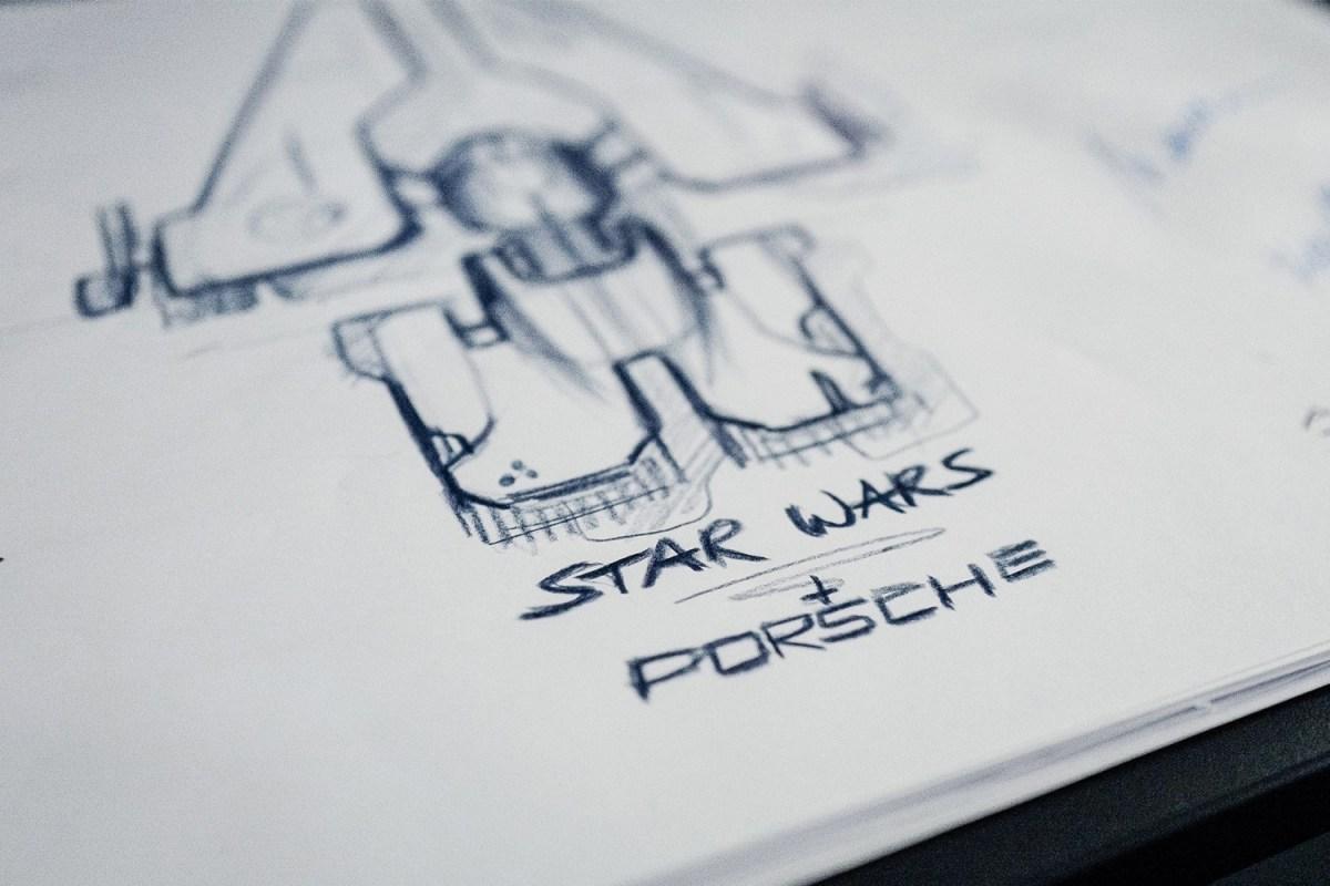 Porsche Star Wars Starship