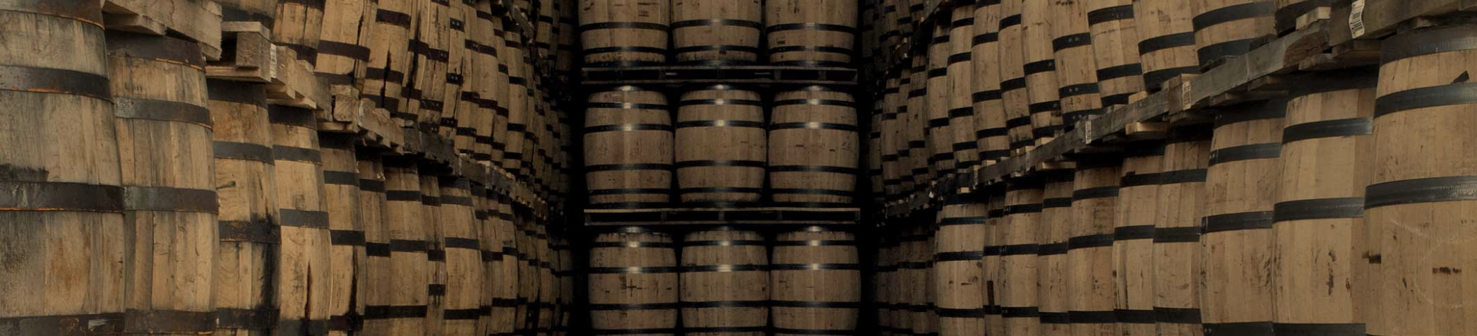 Barrels of Crown Royal Whisky