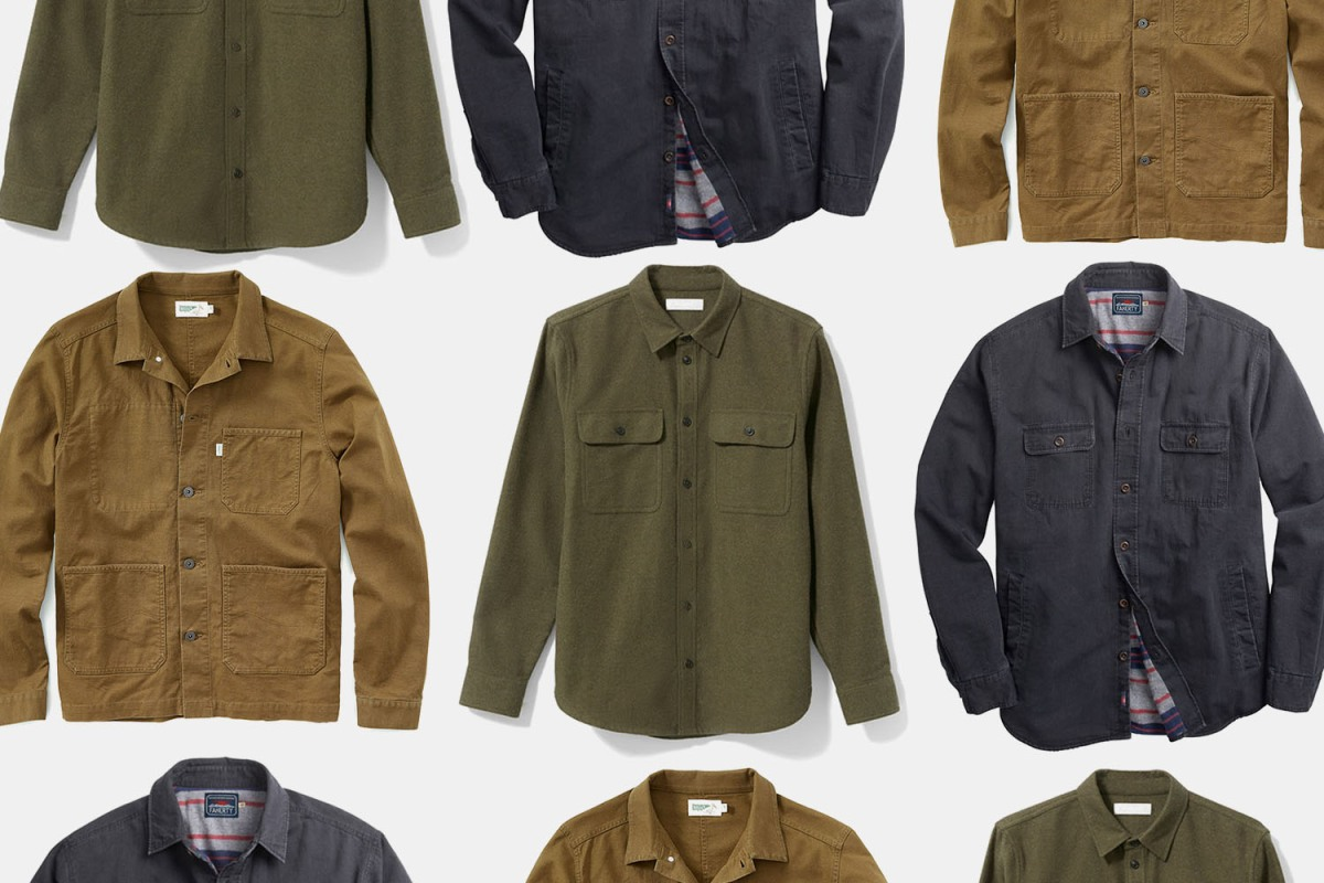 Shirt-Jacket Season Is Almost Upon Us Once Again — If It Ever Even Left