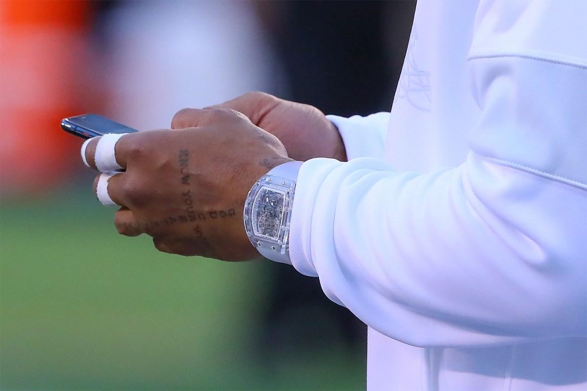 Odell Beckham Jr. Wears $2M Richard Mille Watch
