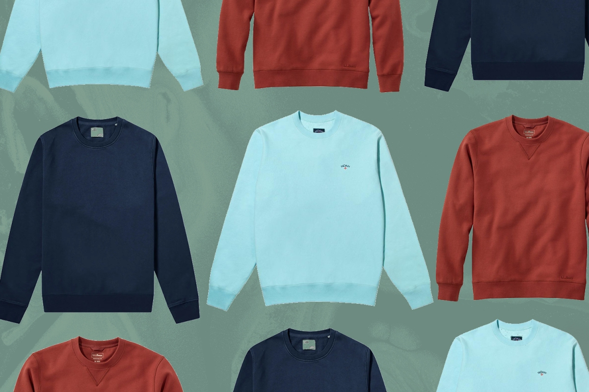 best crewneck sweatshirts for men