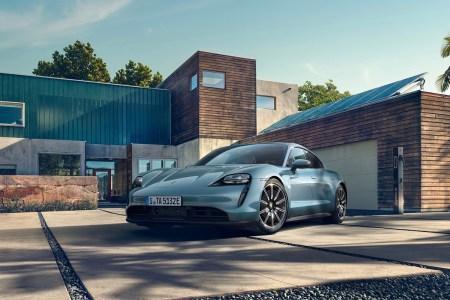 Porsche Taycan 4S Electric Vehicle