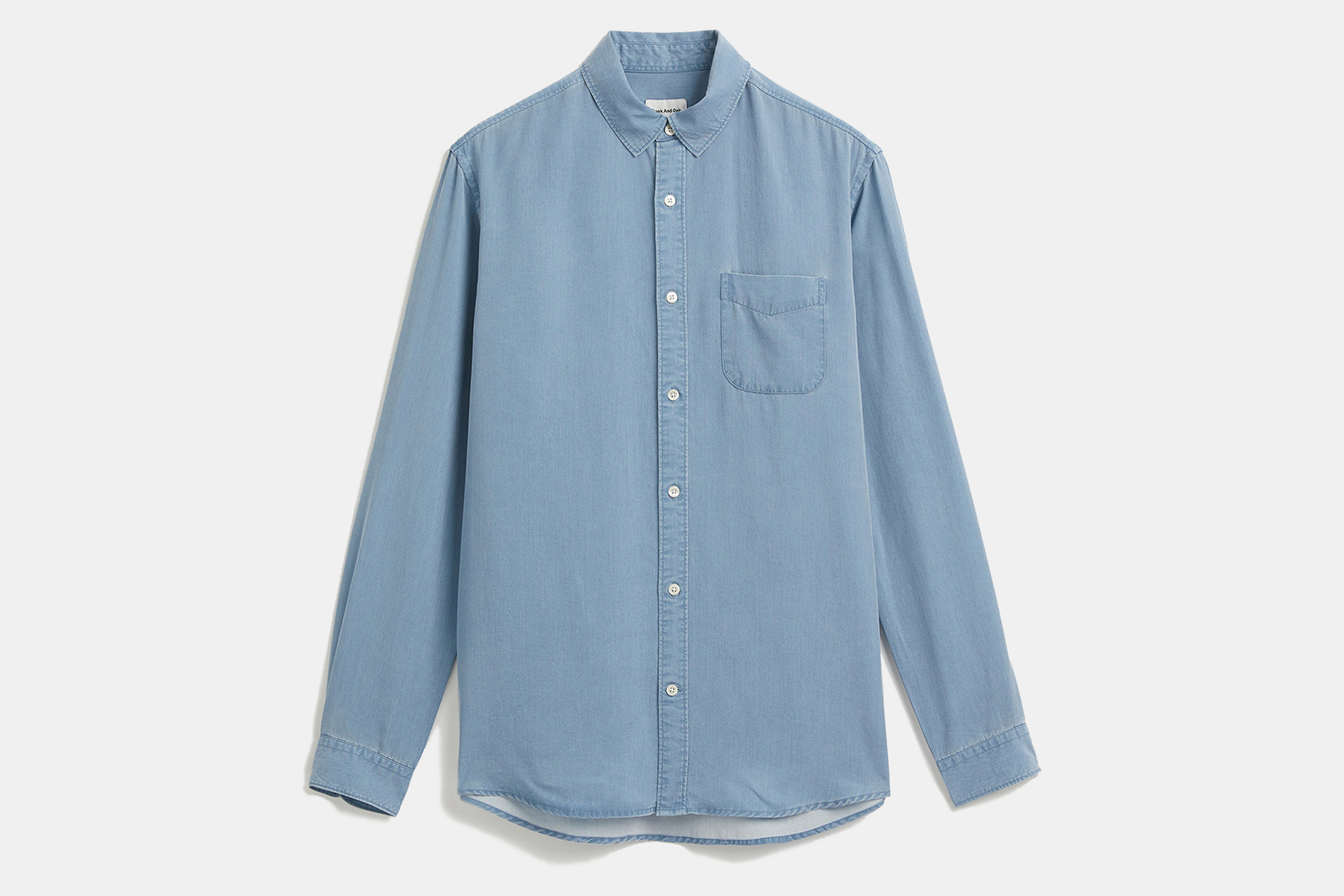 Frank And Oak Tencel lyocell Eco-Dye Shirt